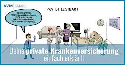 Private Krankenversicherung Erklärvideo